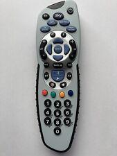Sky+ Plus HD Easy Grip remote control. Official genuine Sky, Inc. batteries.