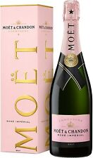 Moet & Chandon Imperial Rosé Champagne 75cl - Pack of 2