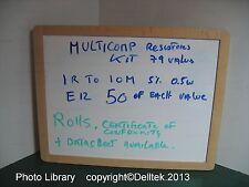 Resistor Kit Assorted 1R to 10M E12 (79 value x50E) 5% 0.5W 3YWarranty UKStock