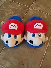 New Super Mario Bros Unisex Soft Plush Slippers - Toddler