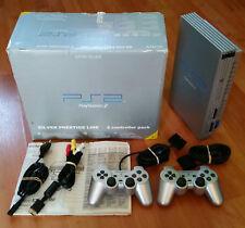 Console PS2 boite édition prestige . silver grise