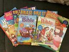 Bible coloring books Lot Of 7
