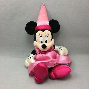 Minnie Mouse Plush Disneyland Walt Disney World Princess Stuffed Animal Toy