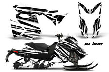 Snowmobile Graphics Kit Decal Sticker Wrap For Ski Doo Rev XS 13-14 INLINE WHITE