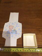 50 Jolies Bonbonnières en Carton À Plier Soi Même Baptême Bleu