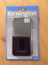 New Kensington for Apple iPhone 4/4S Protective Capsule Case Cover BLACK