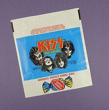 Kiss -Rock Group Original 1970's Bubblegum Card Wrapper