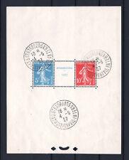 "FRANCE BLOC FEUILLET 2 "" STRASBOURG 1927 "" NEUF xx AVEC CACHET EXPO. TTB R530"