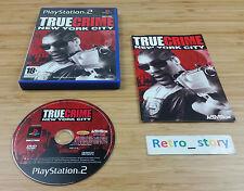 PS2 True Crime New York City PAL
