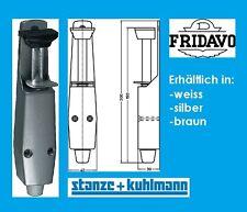 FRIDAVO Türfeststeller -Gummistopfen - Stahl Tretbolzen , stabil , 200mm lang