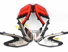 LED Integrated Tail Light Turn Signals For Ducati 899 959 1199 1299 Panigale