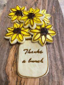 Sunflower cookie cutter, biscuit cutter, birthday ideas, decoration, summer