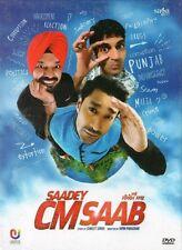 SAADEY CM SAAB - PUNJABI BOLLYWOOD DVD - Harbhajan, Maan, Gurpreet Guggi.
