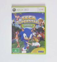 Microsoft Xbox 360 - Sega Superstars Tennis - Complete with Manual Free Postage
