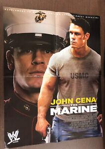 WWE John Cena The Marine Movie Wrestling Poster 16x21