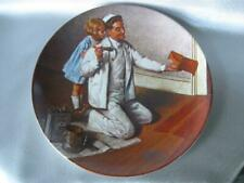 """The Painter by Norman Rockwell Heritage Collector Plate By Knowles 8 1/2"""""""