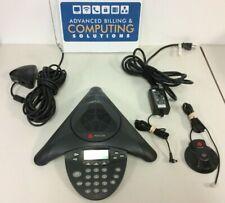 Polycom SoundStation IP 4000 2201-06642-601 w/ PoE Adapter, 1x Extended Mic