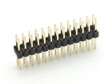 Stiftleiste Header 2 Reihen je 13 Pins = 26 Pin 2,54mm Raster GPIO Raspberry Pi