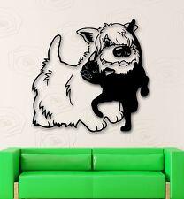 Wall Stickers Vinyl Decal Nursery For Kids Cat Dog Animal Friendship (ig699)