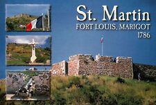 Fort Louis Marigot St. Martin Sint Maarten French West Indies Caribbean Postcard