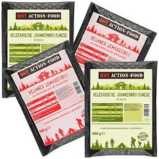 (15,35€/kg) HOT ACTION-FOOD Probierpaket »Garden« 4x400g selbsterhitzend MRE