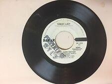 FUNK 45 RPM RECORD - GREGORY JAMES EDITION- DAKAR 4533- PROMO