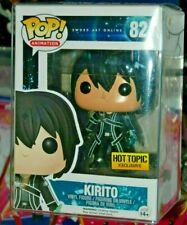 Funko Pop! #82 Sword Art Online Kirito (Hot Topic Exclusive) FREE S/H