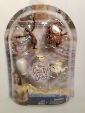 Disney Beauty and the Beast Castle Friends Collection, Hasbro Figurines, New