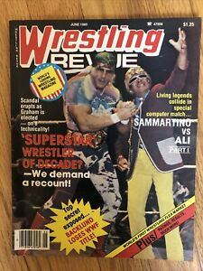 Wrestling Revue Magazine June 1980 WWE WWF WCW NWA AWA Pro Illustrated