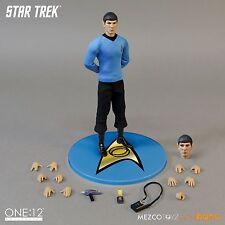 Mezco One:12 Collective Star Trek Spock Leonard Nimoy 1:12 Figure ~Brand New~