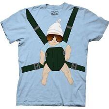 """Hangover """"Alan, Baby Carrier"""" Mens XL Unisex T-Shirt - New"""