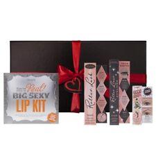Benefit Make Up Mascara Eyeliner Lipstick Kit Eyebrow Gel Makeup Gift Set Box