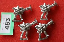 Games Workshop Warhammer 40k Eldar Warp Spiders x4 Metal Mint Craftworlds OOP