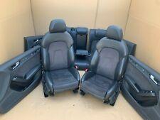 Audi A4 8K B8 S4 RS4 Lederausstattung Leder Sitze S-Line Leather Seats Alcantara
