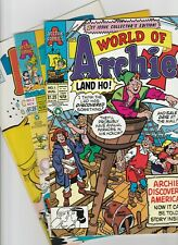 World of Archie - full comics set issues 1 2 3 4 5 6 7 8 9 to 22 1992 Riverdale