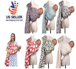 Baby Carrier Ring Wrap Scarf Cotton Sling Backpack Carriers