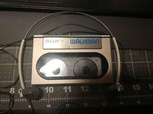 Vintage Sony Walkman WM-10 Cassette Player / Used