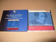 Carl Maria von Weber - : Clarinet Concertos Nos. 1 & 2; Concertion; Clarinet cd