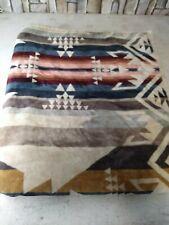 Pendleton Oversized Jacquard Towel White Sands Tan 40x70