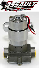 "High Flow Performance Electric Fuel Pump 140GPH Universal Fit 3/8"" NPT Ports"