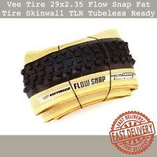 Vee Tire 29 x 2.35 Flow Snap Skinwall Fat Tire Tlr Tubeless Ready 1 or 2 Tires