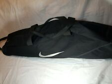Nike Baseball Softball Bat Bag Black Silver Logo