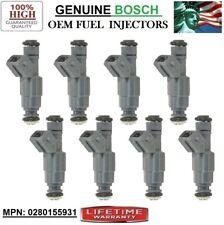 2004 Pontiac GTO 5.7L V8 VIN G^S Brand NEW 8pcs Fuel Injectors _0280155931_BOSCH