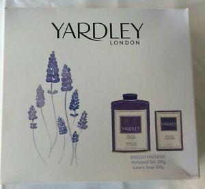 Yardley London English English Lavender Perfumed Talc Soap Gift Set