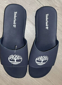 Mens Timberland Size 12 NAVY flip Flops New