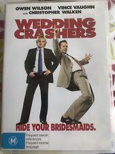 WEDDING CRASHERS DVD REGION 4