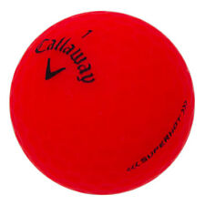 12 Callaway Superhot Matte Red Mint Used Golf Balls AAAAA
