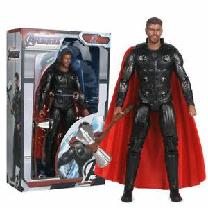 "ZD Marvel Avengers Super Hero Thor Play Toy PVC 7"" Action Figure Model Gift"