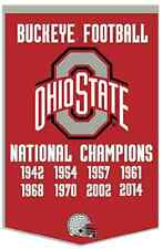 2014 Ohio State CFP National Champion Dynasty Banner & Team Collection Banners!!