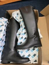 Size 5 Black Leather Riding Boots